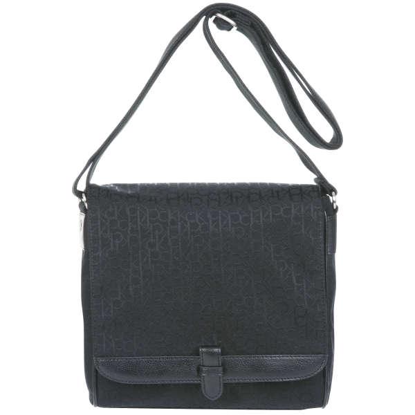 Ck By Calvin Klein Logo Messenger Bag Black