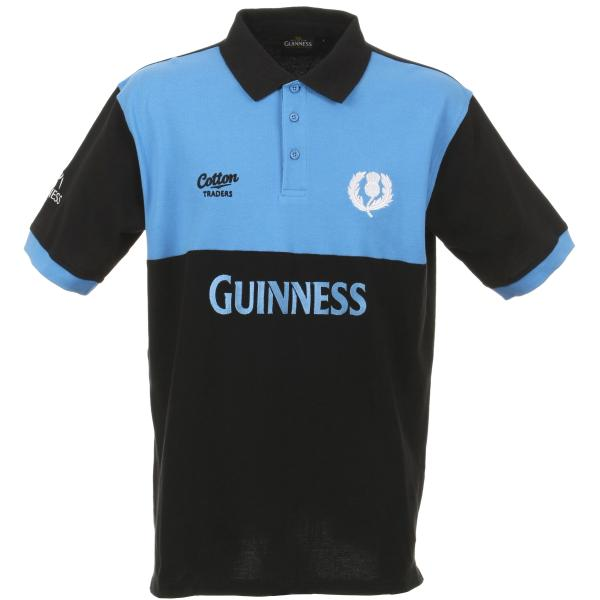 Guinness Scotland Rugby Polo Shirt Clothing Zavvi