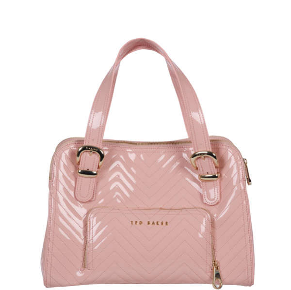 c049f8a6f Ted Baker Kayler Quilted Tote Bag - Pale Pink: Image 1