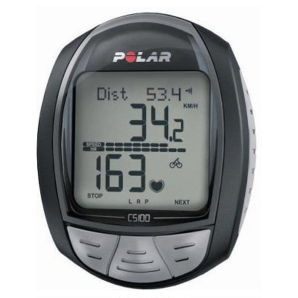 Polar Cs100 Bike Computer Heart Rate Monitor For Cycling