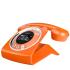 Sagemcom Sixty Digital Cordless Phone - Orange: Image 1
