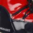 Moon Boot Women's Vinyl Boots - Red/Navy: Image 4