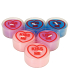 Love Hearts Tealights (Pack of 6): Image 1