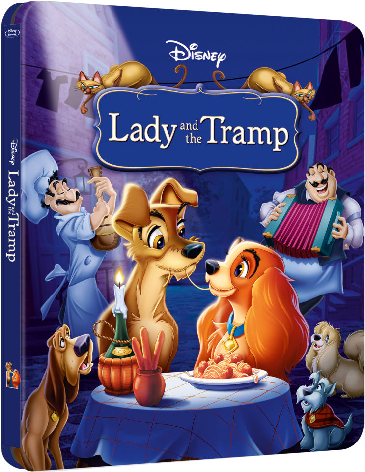 Lady and the Tramp  Zavvi Exclusive Limited Edition Steelbook