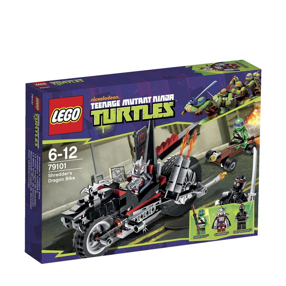 LEGO Ninja Turtles: Shredders Dragon Bike (79101) Toys ...