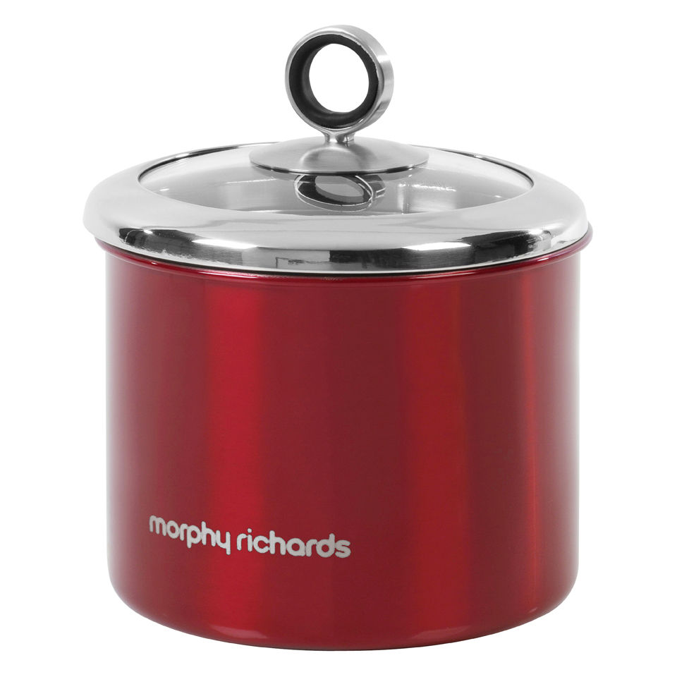 Morphy Richards Red Kitchen Accessories: Morphy Richards Accents Small Storage Canister
