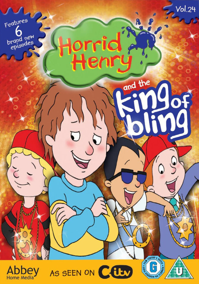 Horrid Henry King Of Bling Dvd Zavvi