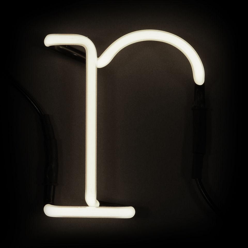 Seletti Neon Wall Light - Letter R Homeware TheHut.com