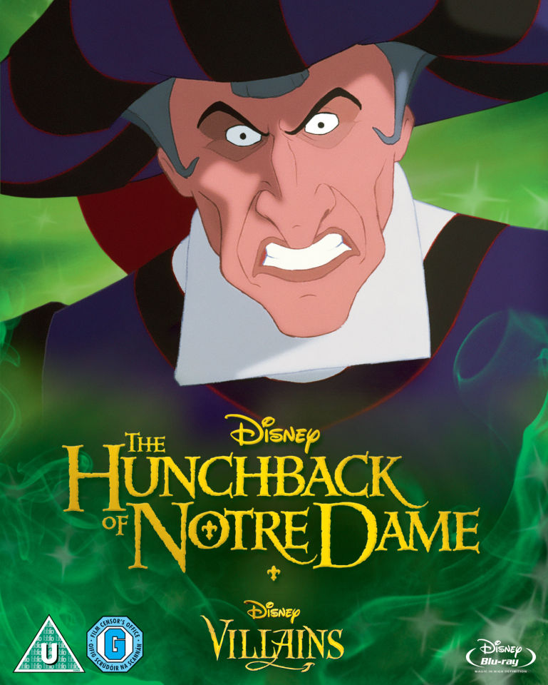 Hunchback Of Notre Dame Disney Villains Limited Artwork