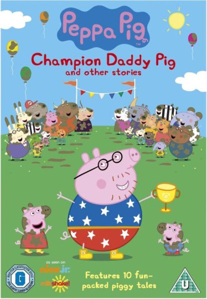 Peppa Pig Champion Daddy Pig Dvd Zavvi