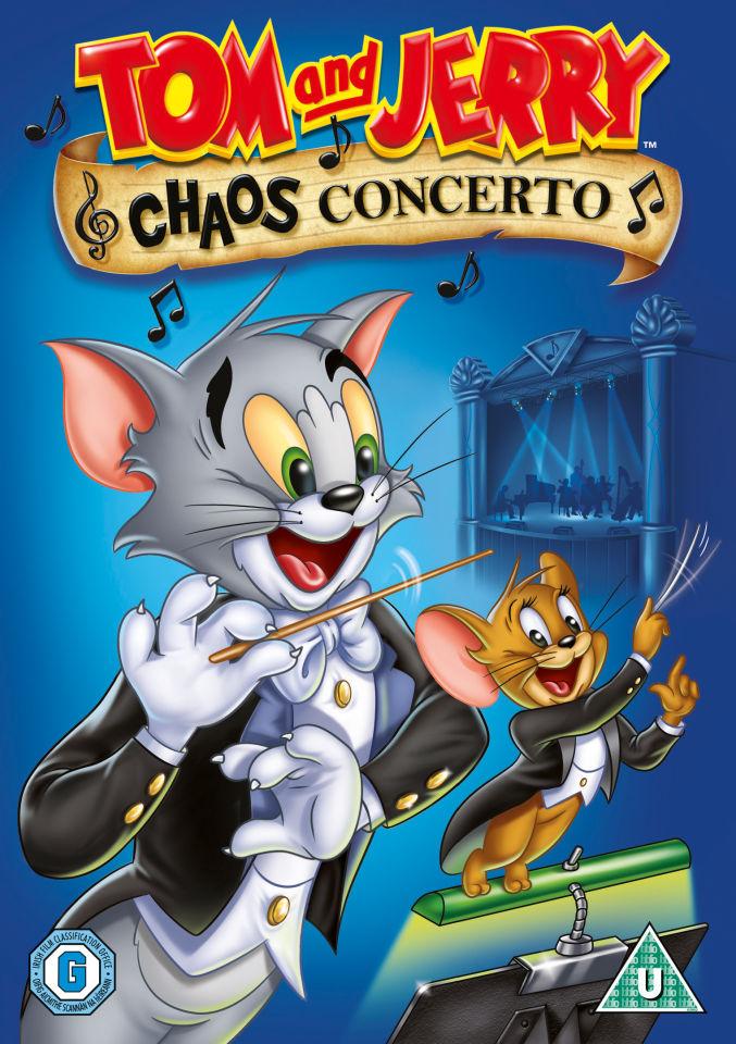 tom and jerry chaos concerto dvd zavvi