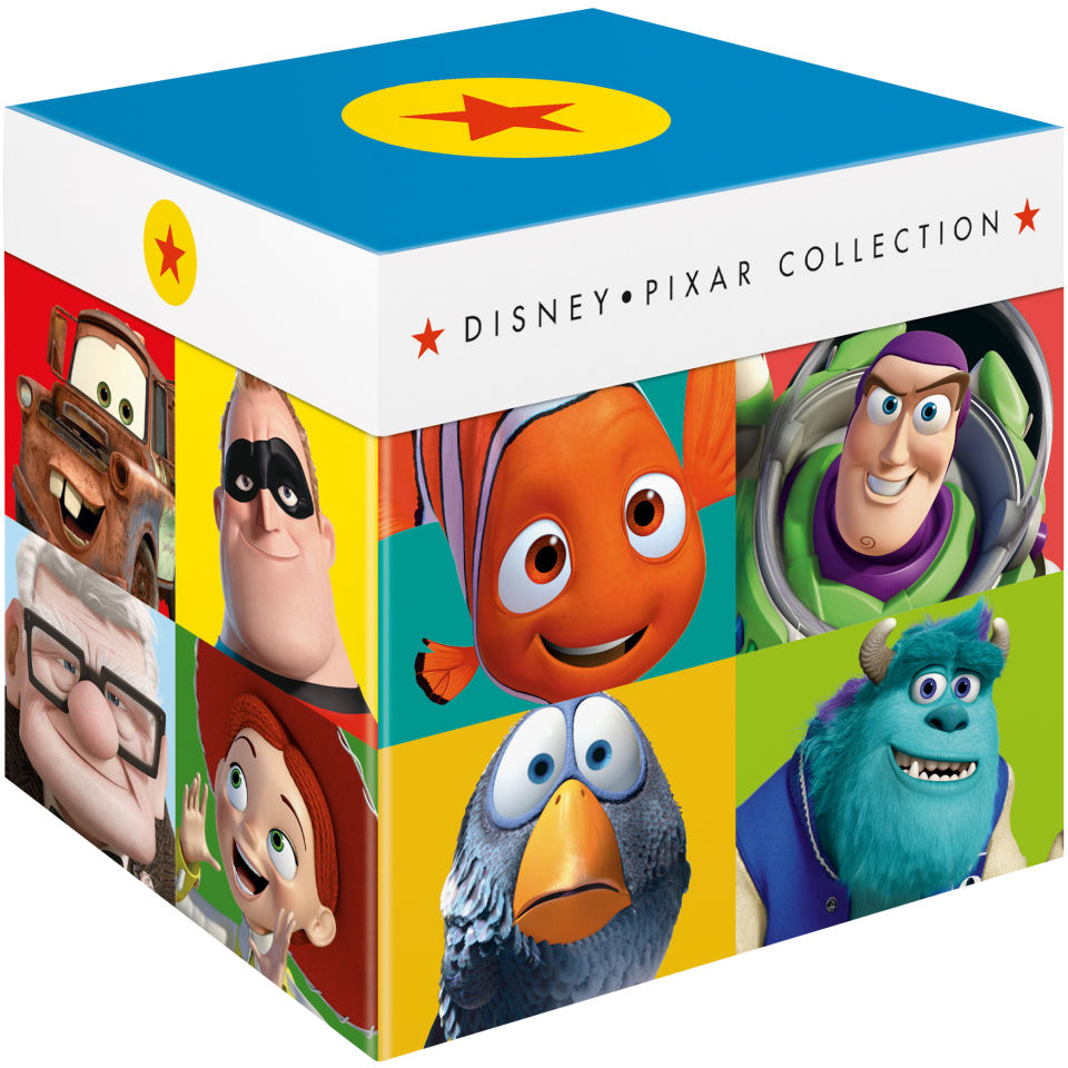 Disney Pixar - The Complete Collection Blu-ray