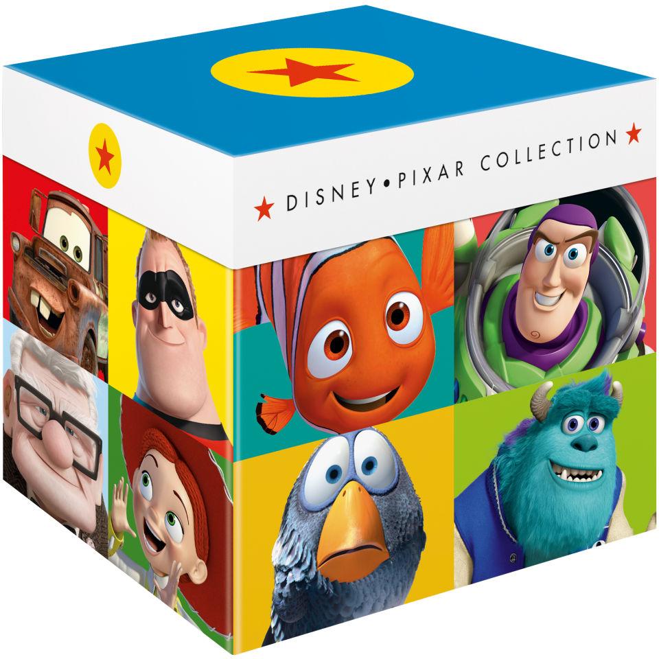 Disney Pixar The Complete Collection Blu Ray Zavvi