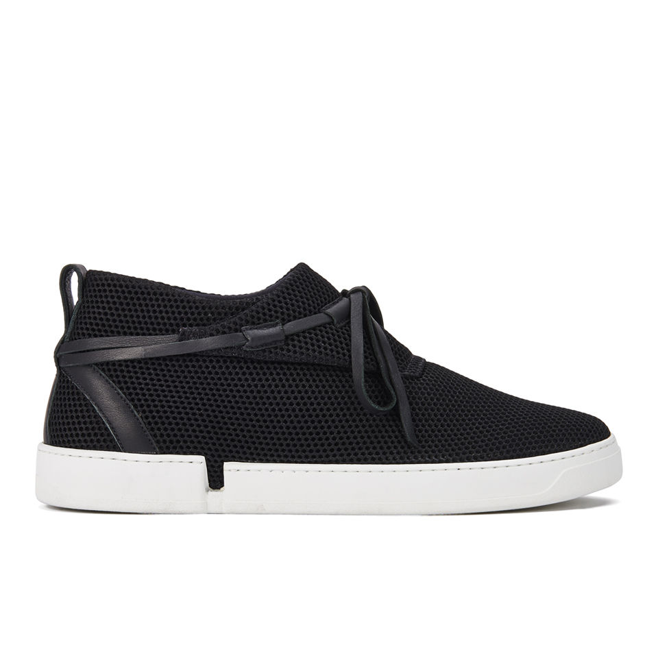 Black Mesh Trainer Camper Shoes