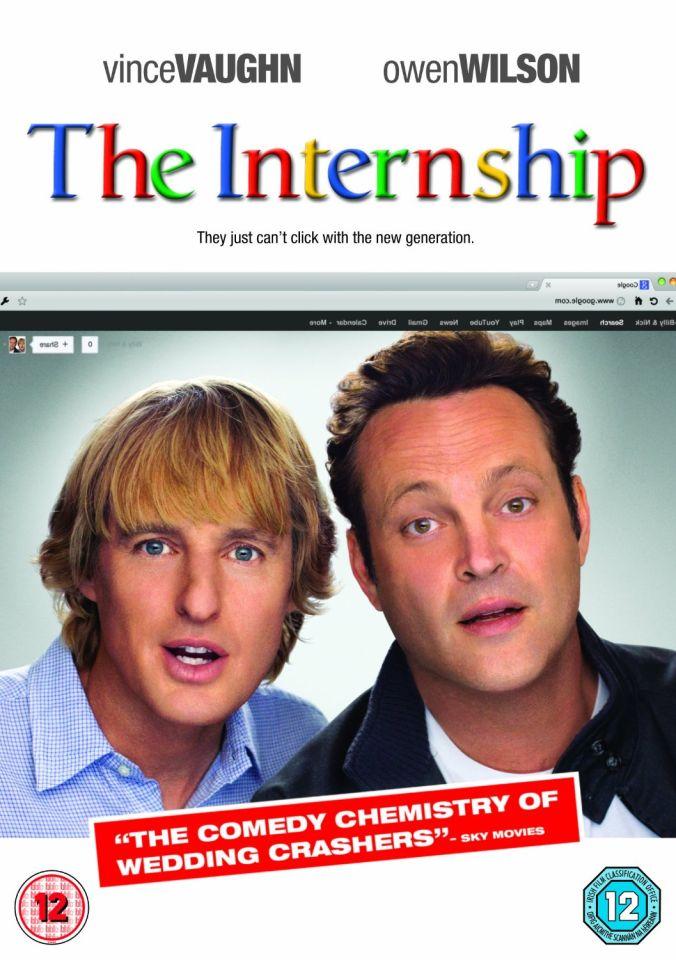 The Internship Dvd Zavvi