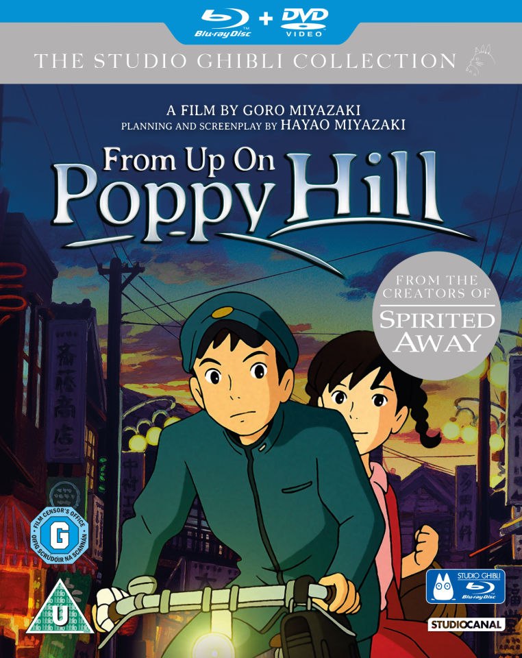 From Up On Poppy Hill Double Play Blu Ray And Dvd Blu