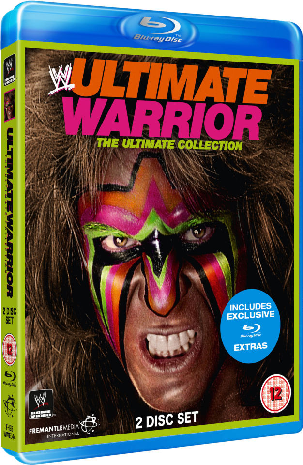 Wwe Ultimate Warrior The Ultimate Collection Blu Ray