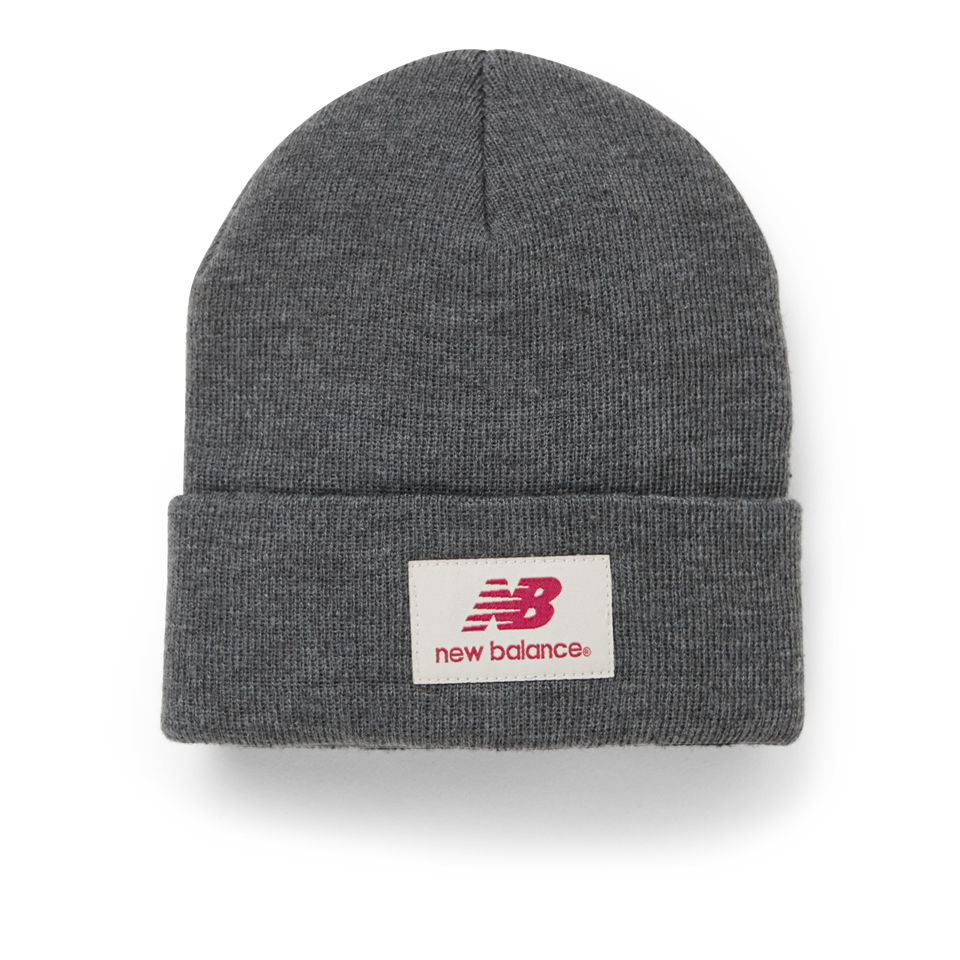 New Balance Unisex Troy Beanie Acrylic Dark Grey