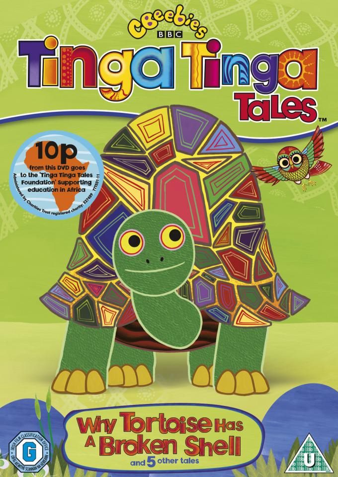 Tinga Tinga Tales Why Tortoise Has A Broken Shell Iwoot