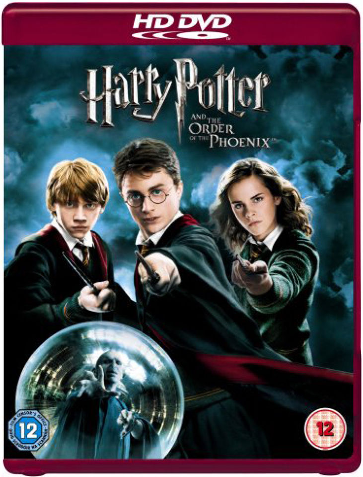 harry potter and the order of the phoenix hd dvd zavvi. Black Bedroom Furniture Sets. Home Design Ideas