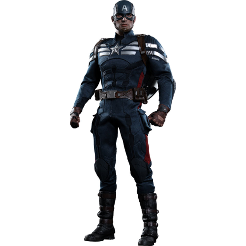 Hot Toys Captain America Stealth S.T.R.I.K.E Suit 1:6 Scale Figure | IWOOT