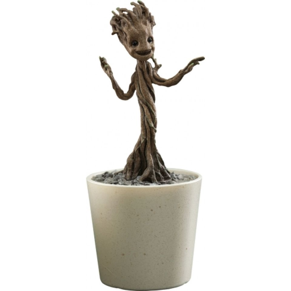 Hot Toys Marvel Guardians Of The Galaxy Little Groot 1 4