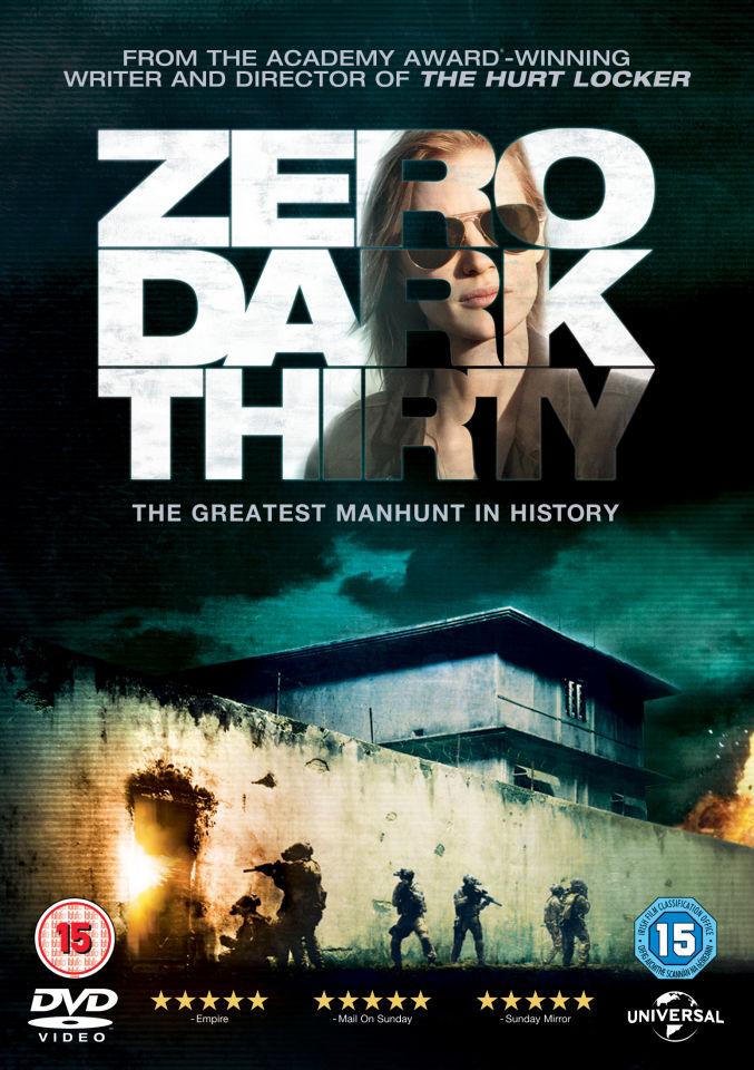 Zero Dark Thirty Dvd Zavvi