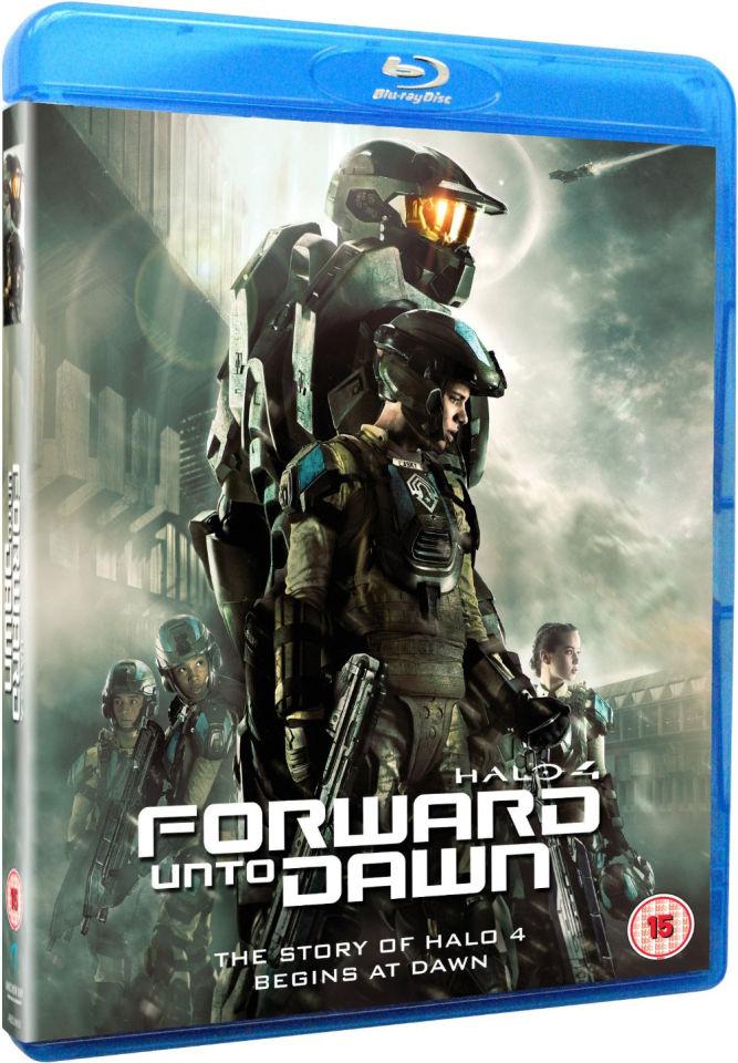 Halo 4 Forward Unto Dawn Blu Ray Zavvi