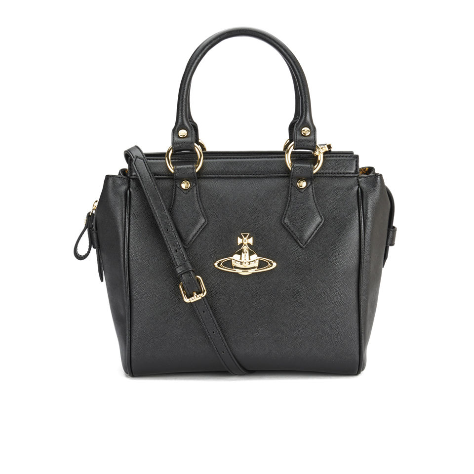 Vivienne Westwood Anglomania Women s Divina Tote Bag - Black - Free UK  Delivery over £50 90931ff334518