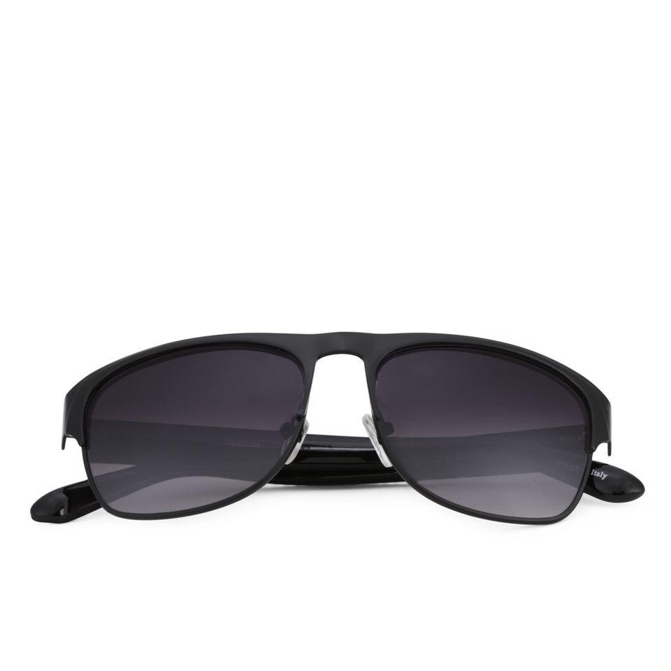 Eyecatcher Womens Wayfarer Sunglasses - Blackwhite -2545