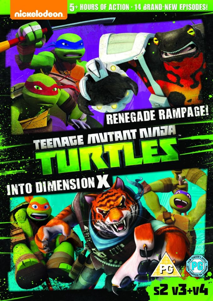 Teenage Mutant Ninja Turtles Season 2 Volume 3 Dvd Zavvi