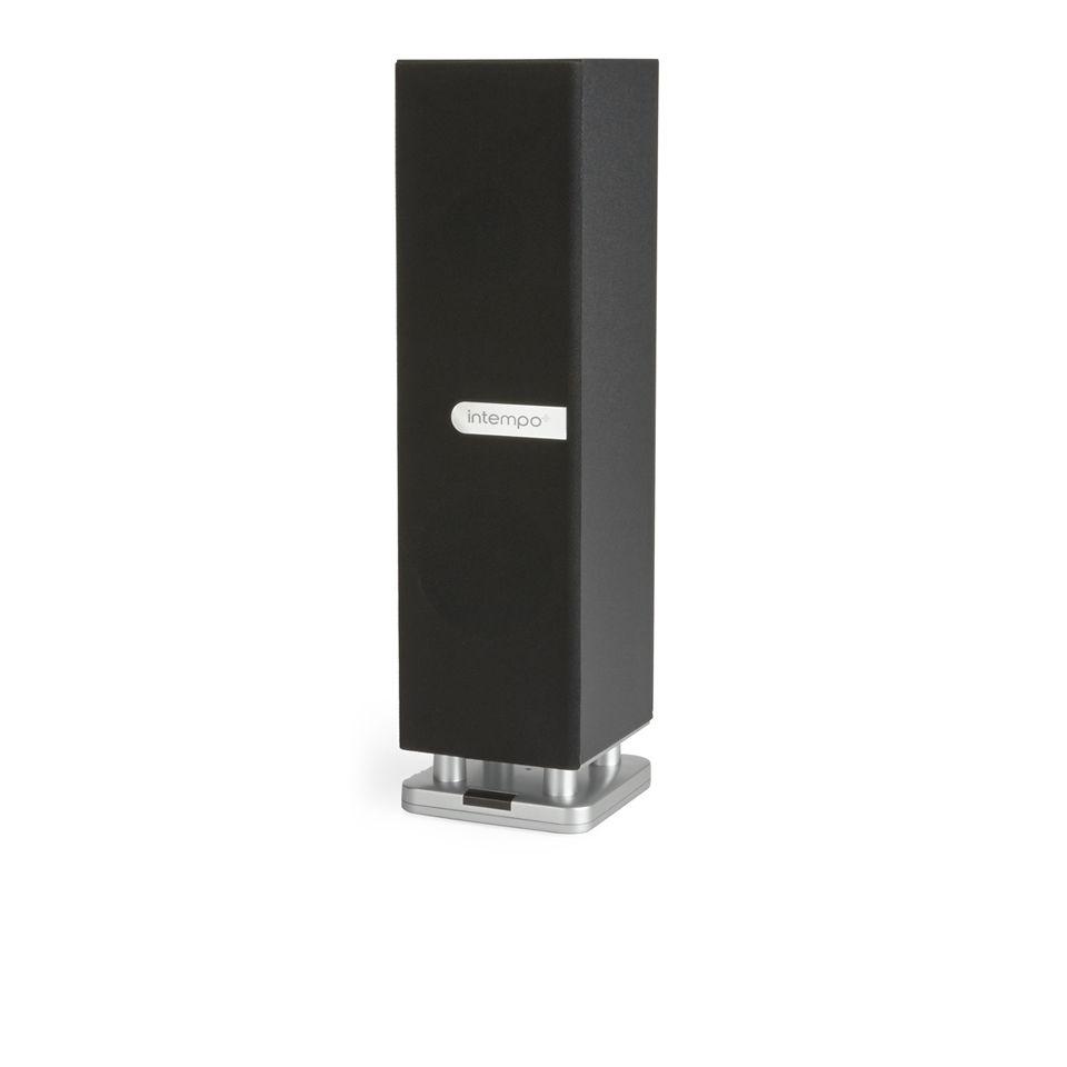 Intempo Table Top Bluetooth Tower Speaker - Black Electronics