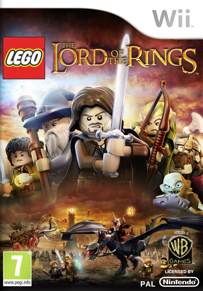 lego lord of the rings review wii