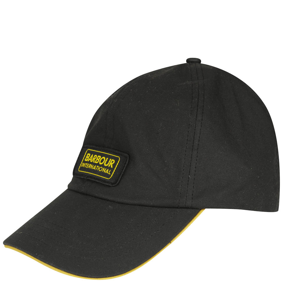 Barbour Men S International Sports Cap Black