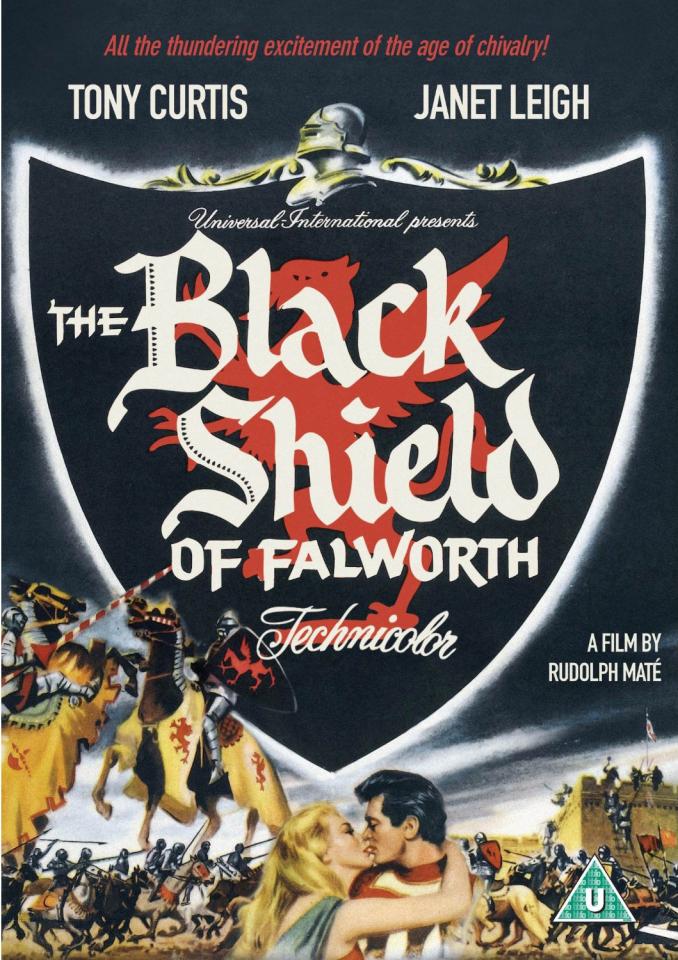 The Black Shield Of Falworth Dvd Zavvi