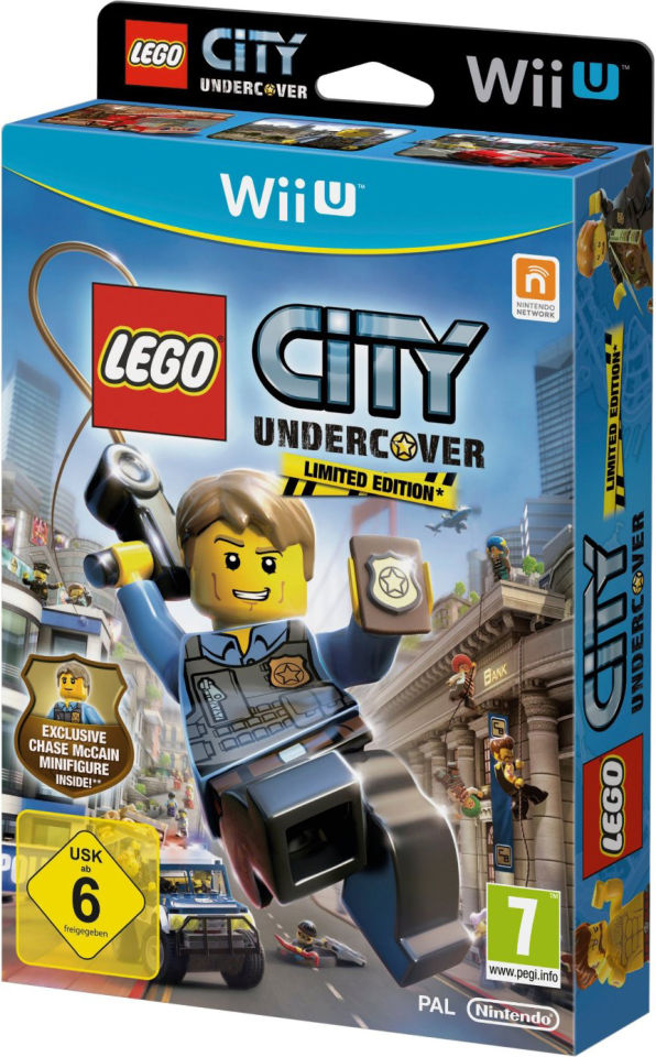 Lego City: Undercover - Limited Edition with Chase McCain Minifigure ...