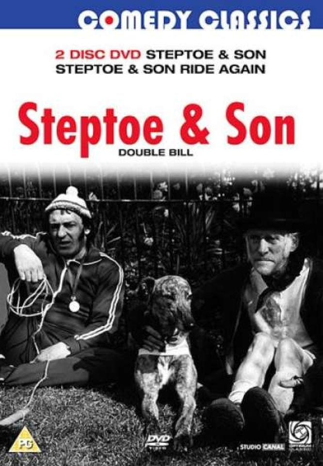 Steptoe And Son Steptoe And Son Ride Again Dvd Zavvi