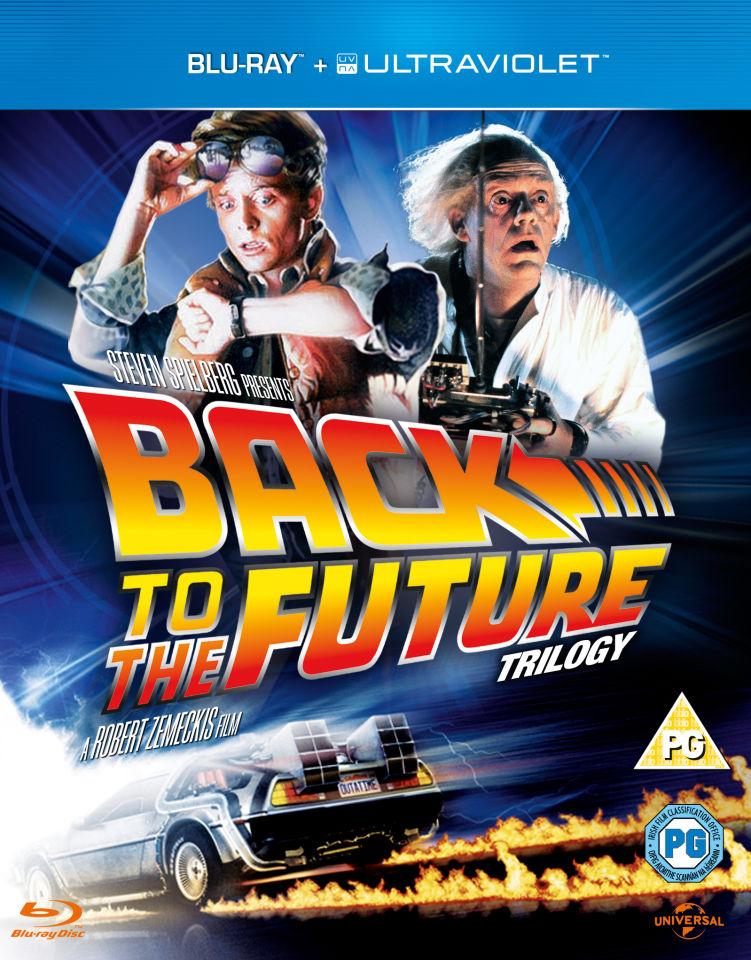 back to the future trilogy zavvi