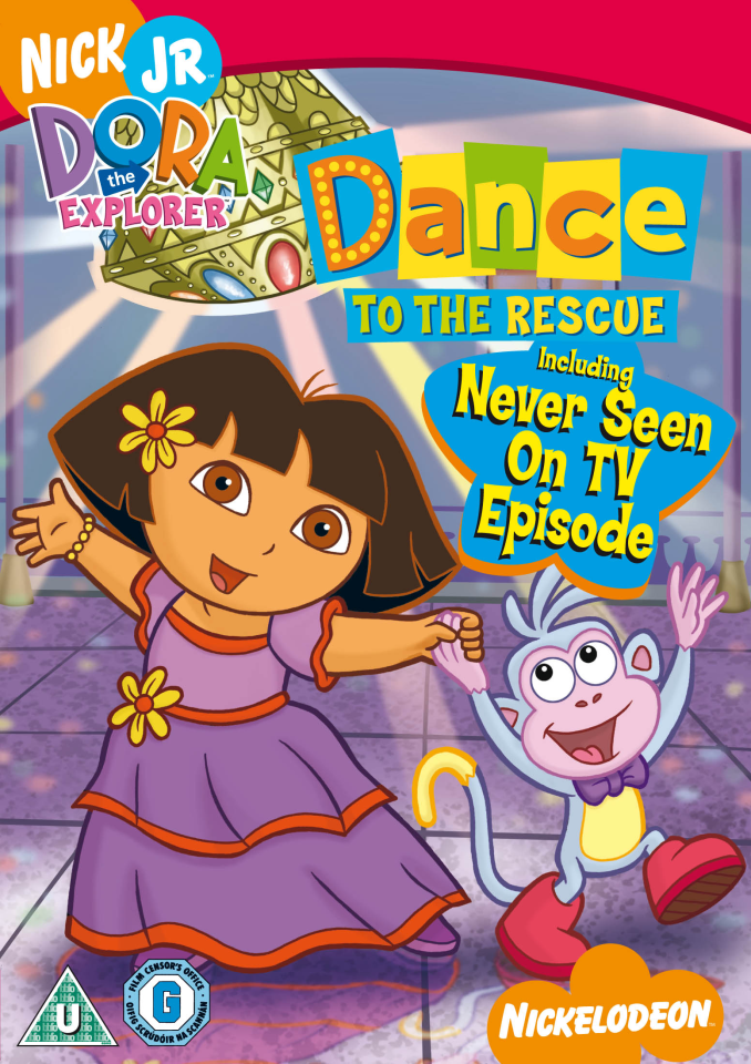 Dora The Explorer Dance To The Rescue Dvd Zavvi
