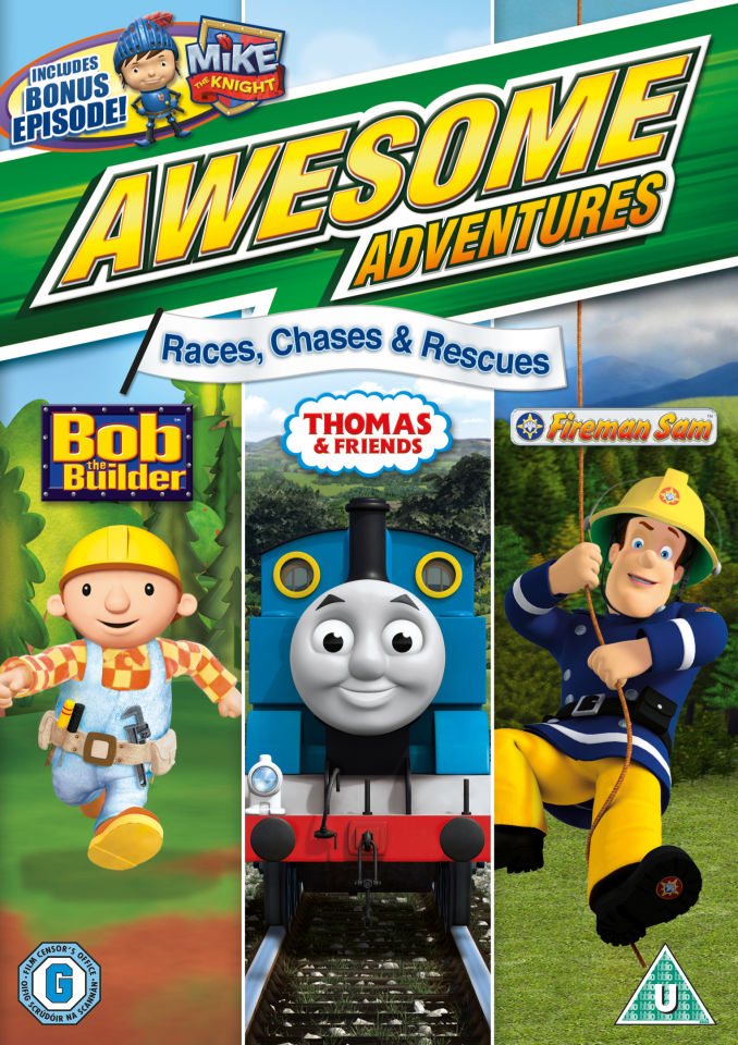 Awesome Adventures Races Chases And Rescues Dvd Zavvi