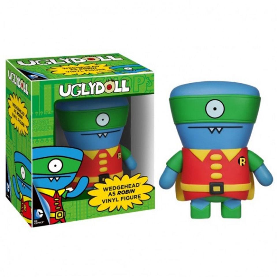 Dc Comics Uglydolls Wedgehead As Robin Pop Vinyl Figure