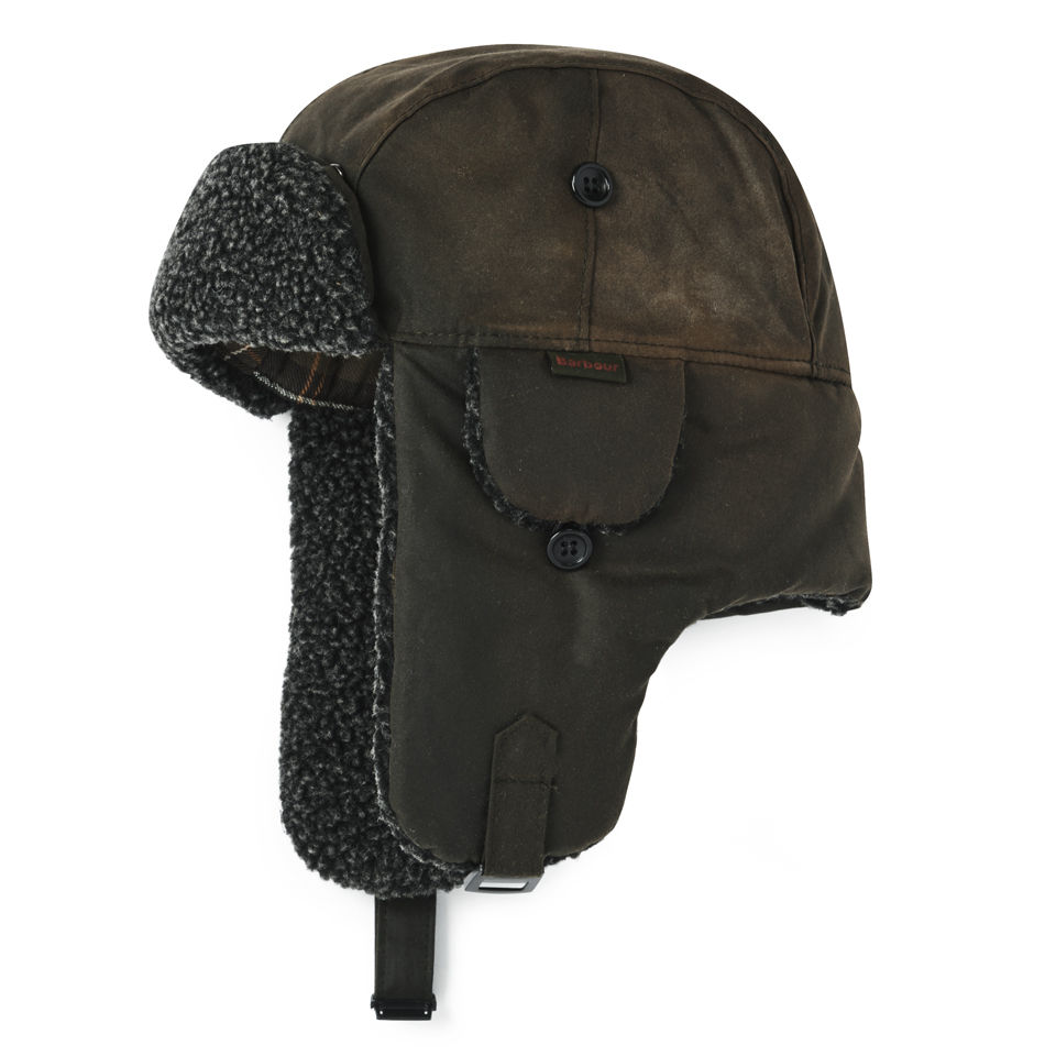 6266e71b7561c Barbour Fleece Lined Trapper Hat - Olive