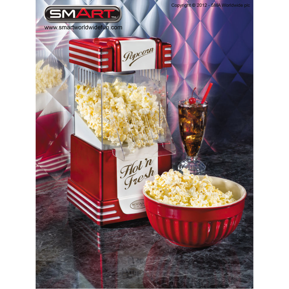 Nostalgia Electrics Retro Hot Air Popcorn Maker Iwoot