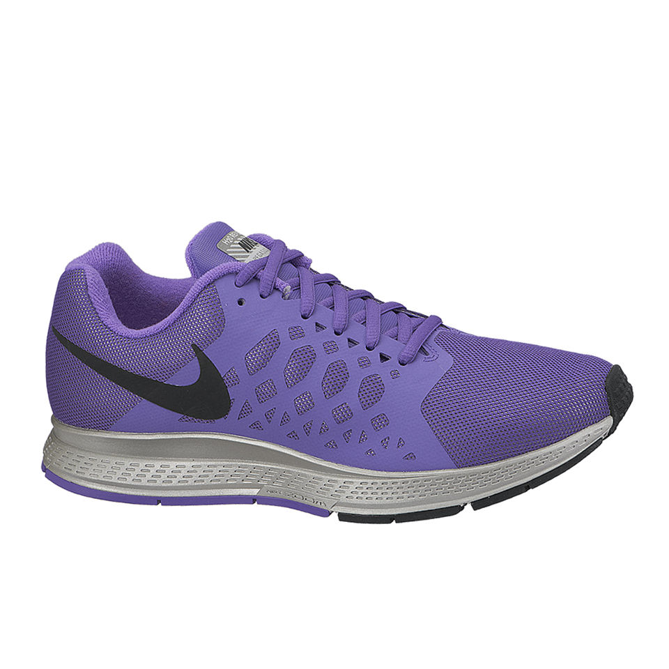 008eb456a1f7 ... Nike Women s Zoom Pegasus 31 Flash Neutral Running Shoes - Action Hyper  Grape Reflective Silver
