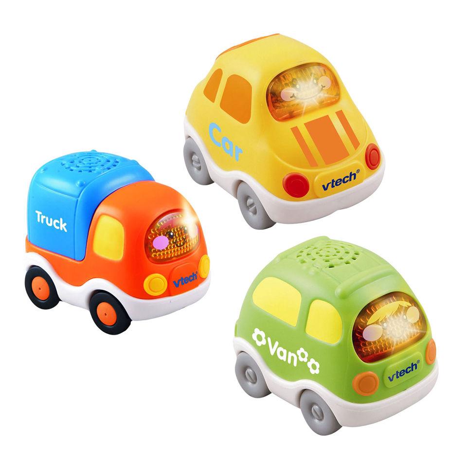 Set 1. Van And Lorry Toys