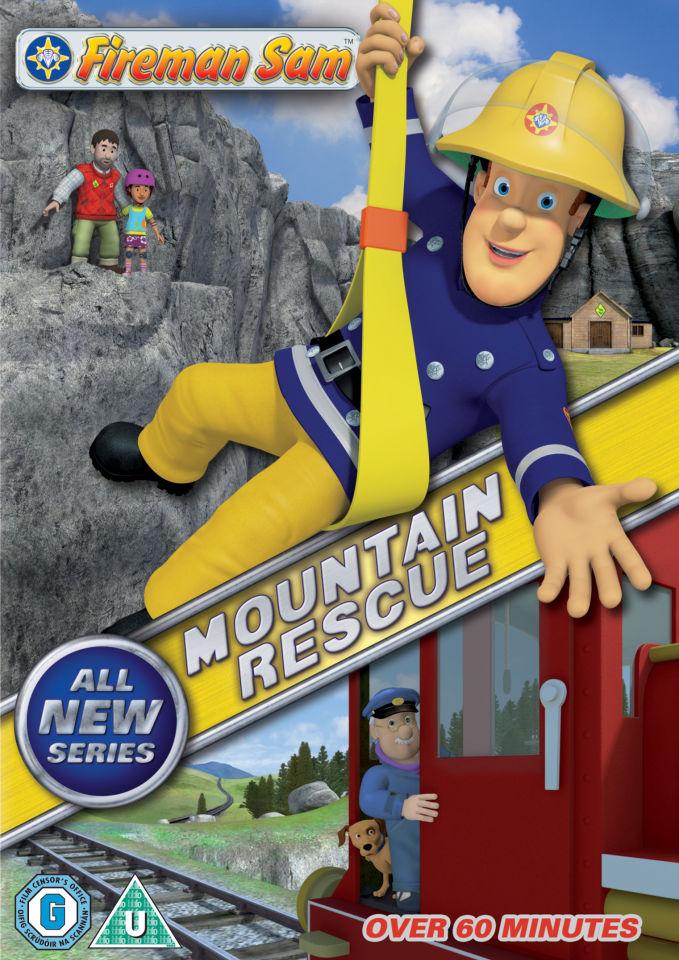 Fireman Sam Mountain Rescue Dvd Zavvi
