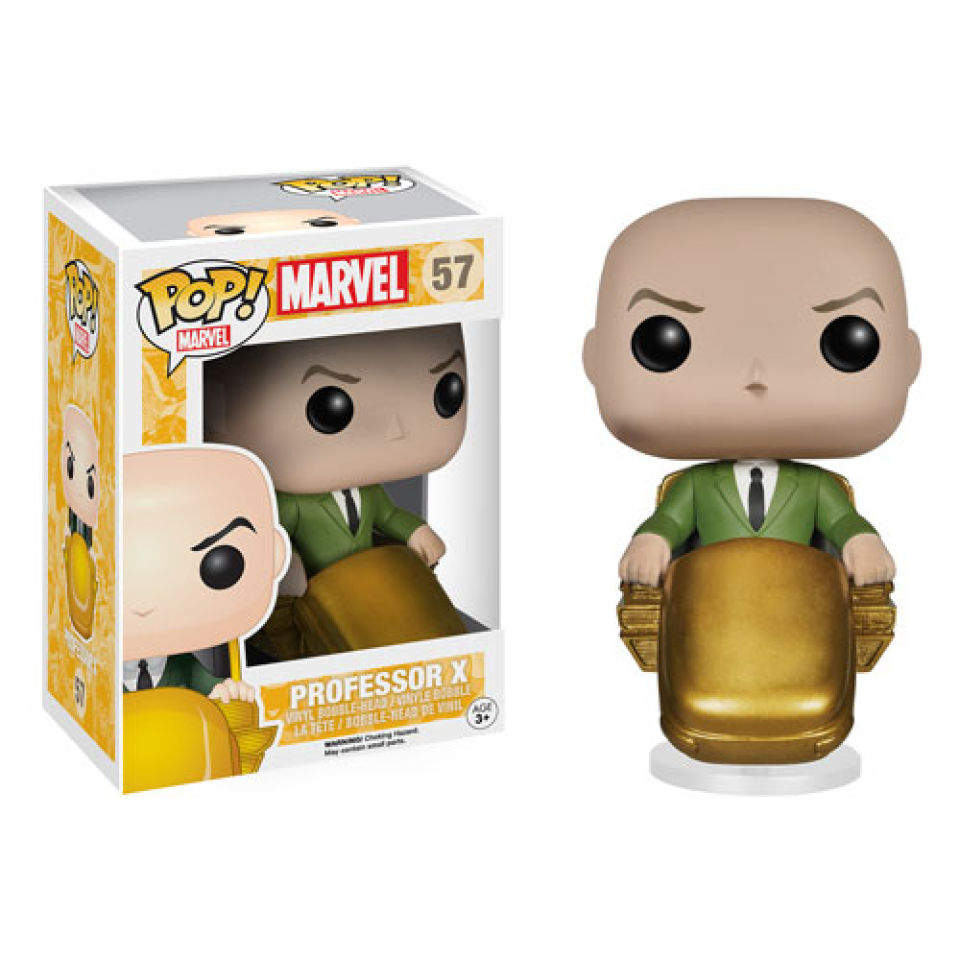 Marvel X Men Professor X Pop Vinyl Figure Merchandise Zavvi