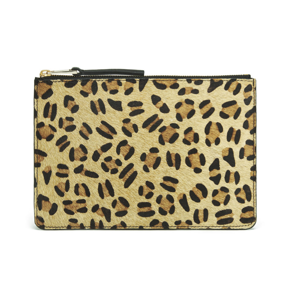French Connection Char Leopard Clutch Bag Leopard