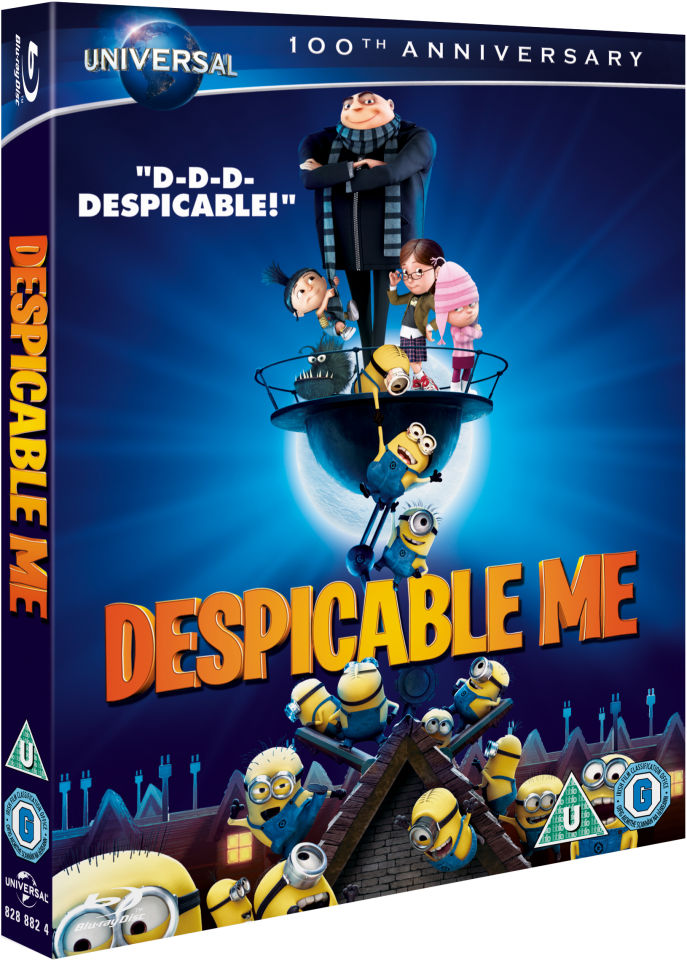 Despicable Me Augmented Reality Edition Blu Ray Zavvi