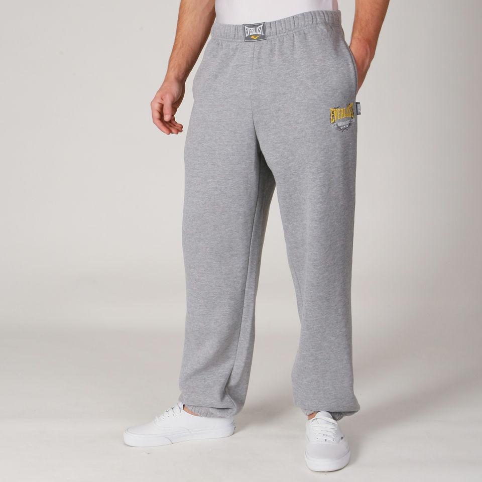 Everlast Men S Jog Pants Grey Marl Clothing Zavvi